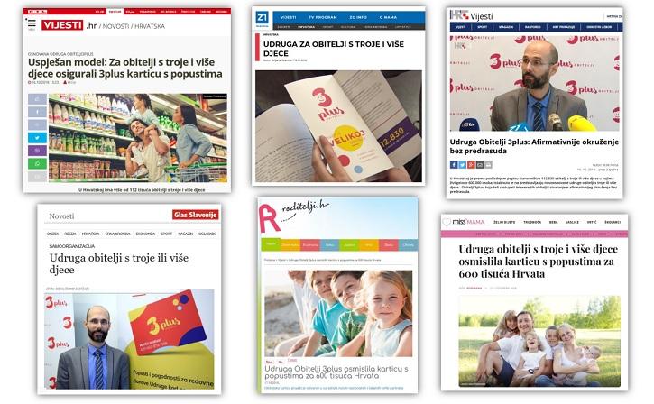 Promocija udruge Obitelji 3plus i naših ciljeva u medijima