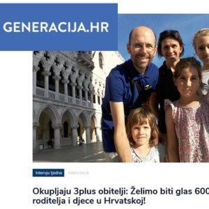 Intervju predsjednika Udruge na portalu Generacija.hr
