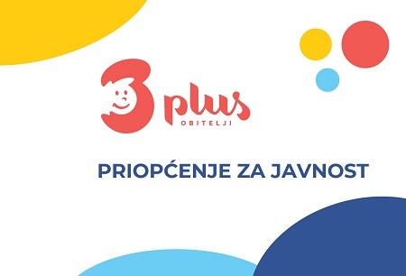 Priopćenje povodom otvaranja savjetovanja vezano uz mjeru roditelj odgojitelj u Gradu Zagrebu