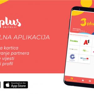 Mobilna aplikacija Obitelji 3plus za članove Udruge