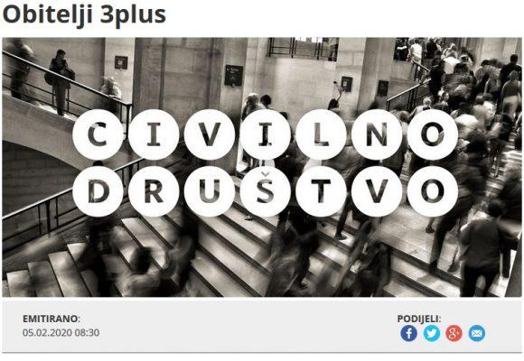 Gostovali smo u emisiji 'Civilno društvo' Hrvatskog radija
