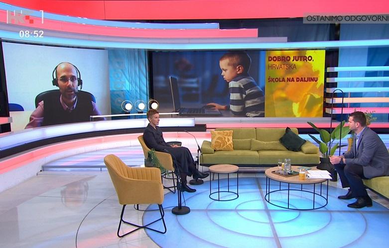 Obitelji 3plus u emisiji HTV-a 'Dobro jutro, Hrvatska'