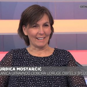 """Đurđica Mostarčić na HRT-u: """"Više djece – više veselja!"""""""