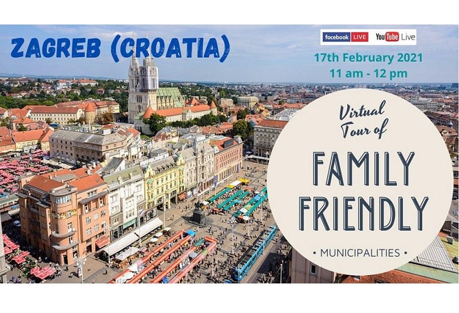 Grad Zagreb predstavljen kao europski grad prijatelj velikih obitelji