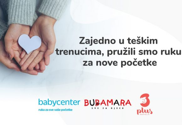 69 obitelji dobilo pomoć BabyCentera, Bubamare i udruge Obitelji 3plus